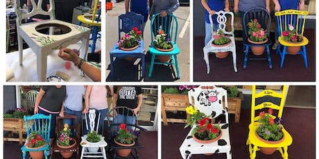DIY Chair Planter tickets