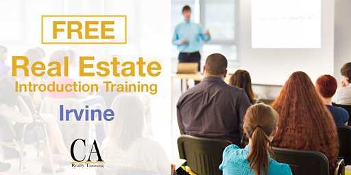 Free Real Estate Intro Session - Irvine
