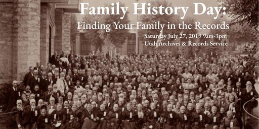 Family History Day: Finding Your Family in the Records