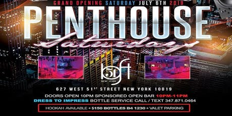 Penthouse Saturdays @Loft51nyc tickets
