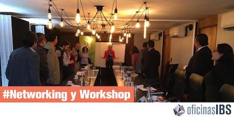 """Networking y Workshop en Oficinas IBS - """"Guía para quebrar una empresa en 12 meses"""" entradas"""