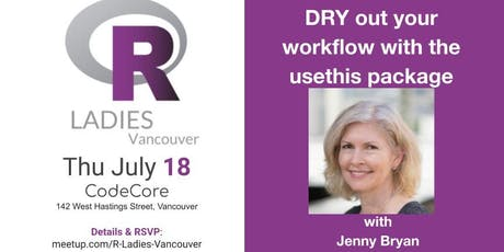 R-Ladies Vancouver July event: Jenny Bryan @ CodeCore tickets