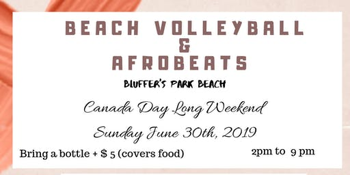 Beach Volleyball & AfroBeats