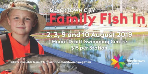 2019 Family Fish In- Saturday 3 August 5pm