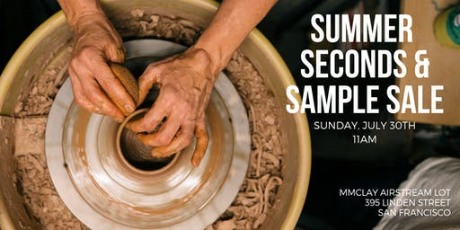 MMclay Summer Seconds & Sample Sale