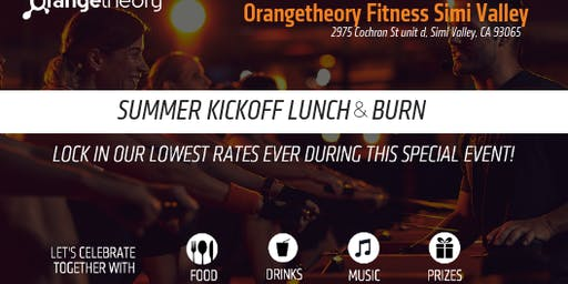 Orangetheory Fitness - New Guest Lunch & Burn