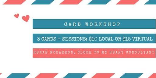 August Card Workshop