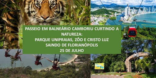 Passeio Balneário Camboriú: Zôo, Parque Unipraias e Cristo Luz