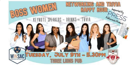 Boss Women - Networking and Trivia Happy Hour Event