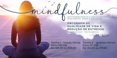 Programa de Qualidade de Vida e Redução do Estresse baseado em Mindfulness