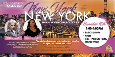 Did someone say Modeling and Ministry takes New York? tickets