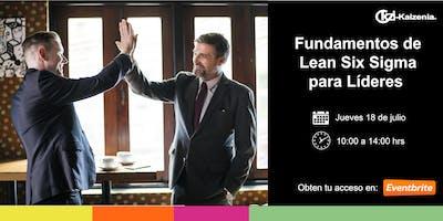 Fundamentos de Lean Six Sigma para Líderes