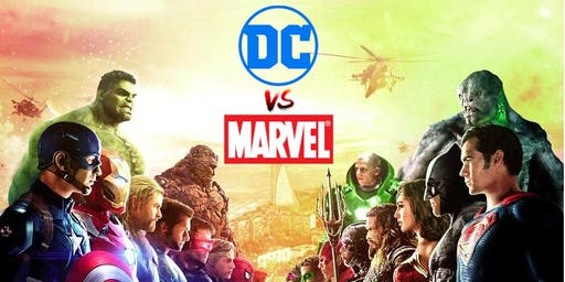 Youth Week 2019: DC vs Marvel