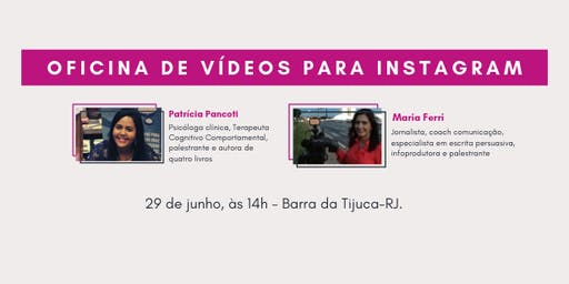 Oficina de  Vídeos para Instagram