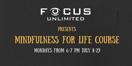 Mindfulness For Life Course tickets