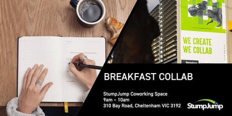 Breakfast Collab : this week financial management and funding tickets