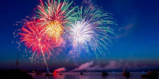 July 4th Fireworks on a Sailboat!