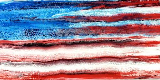SPECIALTY CLASS - Pour a Flag