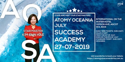 Atomy Oceania- July Success Academy