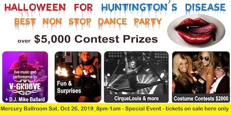 Halloween for Huntington's Disease - Mercury Ballroom Dance Party 2019 tickets