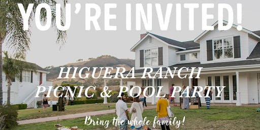 Higuera Ranch Food Truck Picnic & Pool Party
