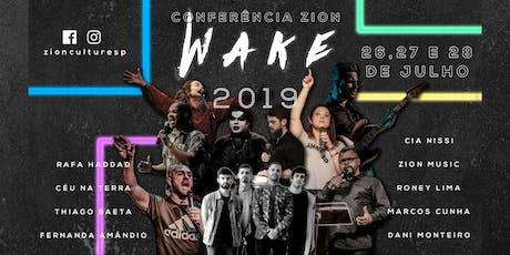 Wake 2019 (Entrada 1kg de alimento) ingressos