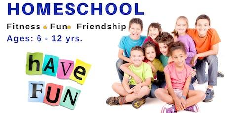Homeschool Fitness * Fun * Friendship | Ages 6 - 12 yrs. tickets