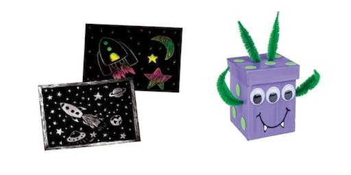Roaring rockets, space mobiles and aliens (ages 6-8)