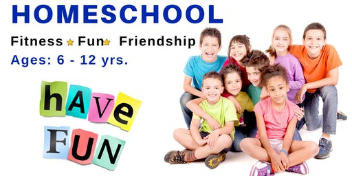 Homeschool Fitness * Fun * Friendship | Ages 6 - 12 yrs. | Sept. 27th