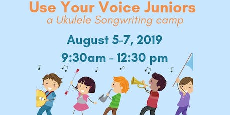 SOUND IMPACT Use Your Voice Juniors: a Ukulele Songwriting Summer Camp tickets