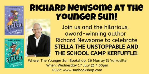 Richard Newsome at the Younger Sun!