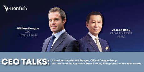 CEO Talks: A fireside chat with Will Deague, CEO of Deague Group tickets