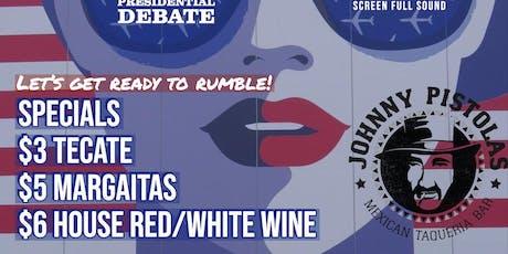 Democratic Presidential Debate  tickets