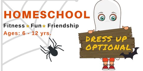 Homeschool Fitness * Fun * Friendship | Ages 6 - 12 yrs. | October 25th tickets