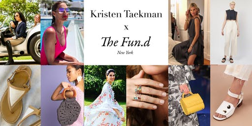Sip & Shop with Kristen Taekman & The Fun.d in Southampton
