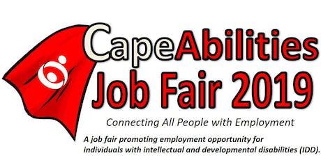 CapeAbilities Job Fair 2019 - Employer / Exhibitor Registration tickets