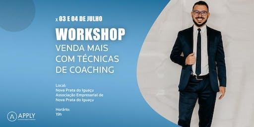 WORKSHOP VENDA MAIS COM TÉCNICAS DE COACHING