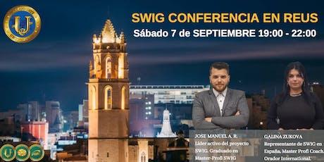 Te invitamos a nuestro evento de SWIG y STO CRYPTOUNIT en REUS entradas