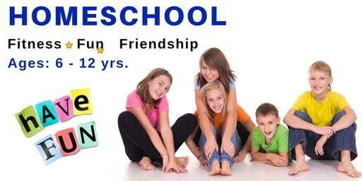 Homeschool Fitness * Fun * Friendship | Ages 6 - 12 yrs. | November 22nd
