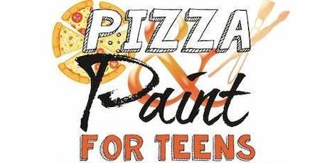 Teen Pizza & Paint  tickets