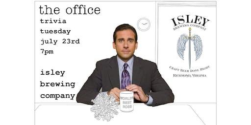 Trivia Tuesdays - The Office Trivia at Isley Brewing Company