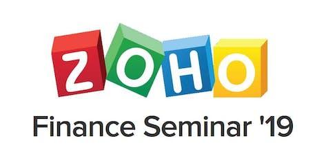 Zoho's Free Finance Workshop tickets