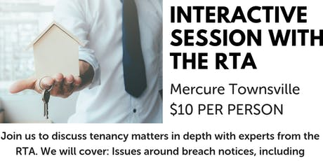 Interactive session with the RTA TOWNSVILLE tickets
