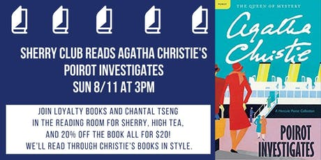 Sherry and Christie Book Club Discusses Poirot Investigates tickets