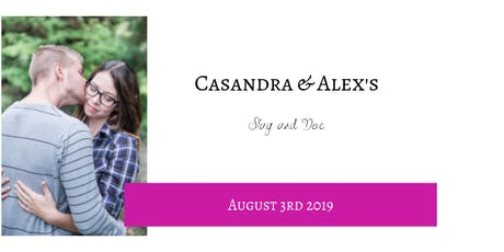 Casandra & Alex's Stag and Doe tickets