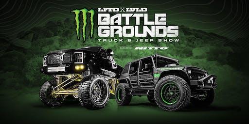2019 Monster Energy's LFTD & LVLD Truck & Jeep Battle Grounds Houston: Vehicle Registration