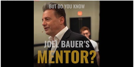 Exclusive VVIP Closed-door Business Consultation with Joel Bauer's Mentor tickets
