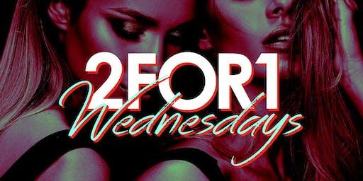 2 for 1 Admission: Wild Wednesdays