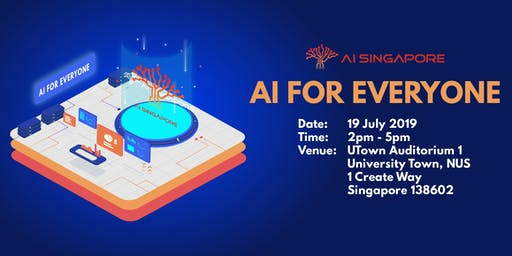 AI for Everyone (19 July 2019)