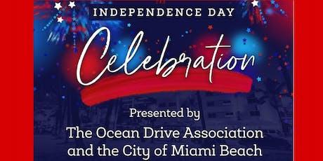4th of July Weekend Celebration on Ocean Drive! tickets